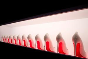 The art of the shoe: Louboutin on exhibit