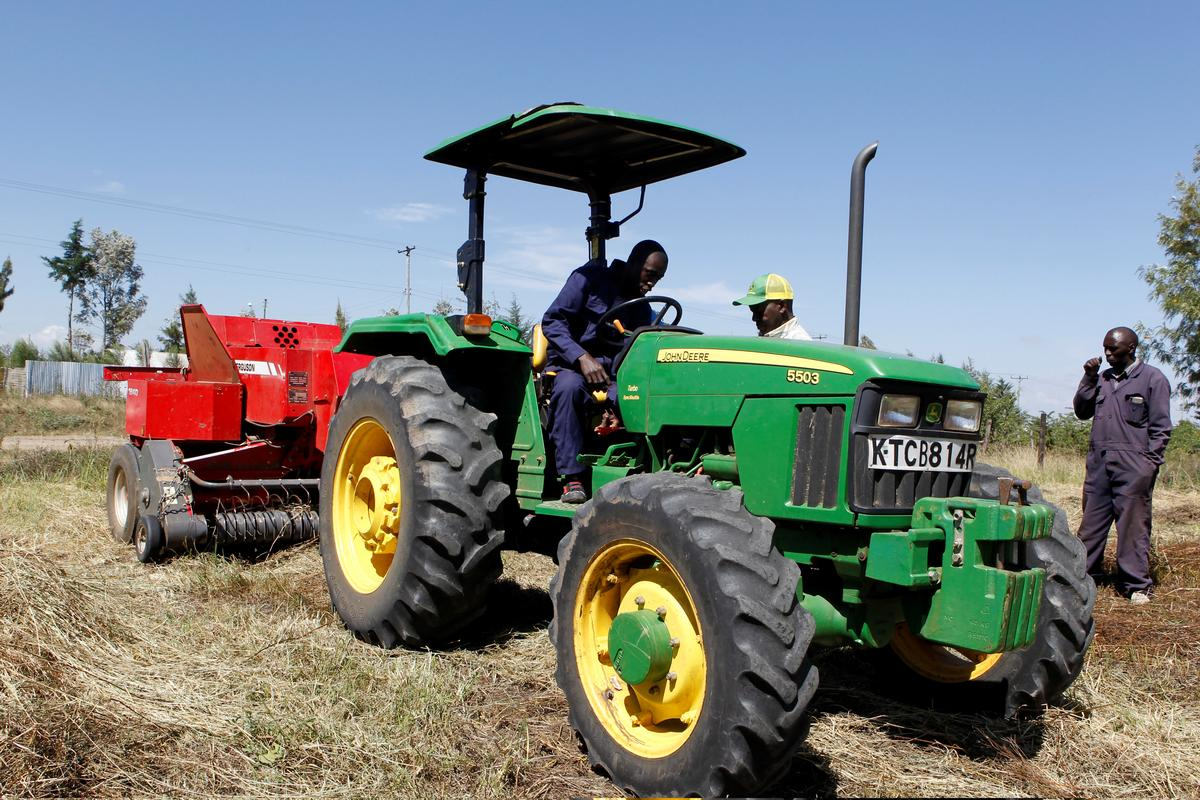Deere taps tractor-hailing tech in bid to break ground in Africa