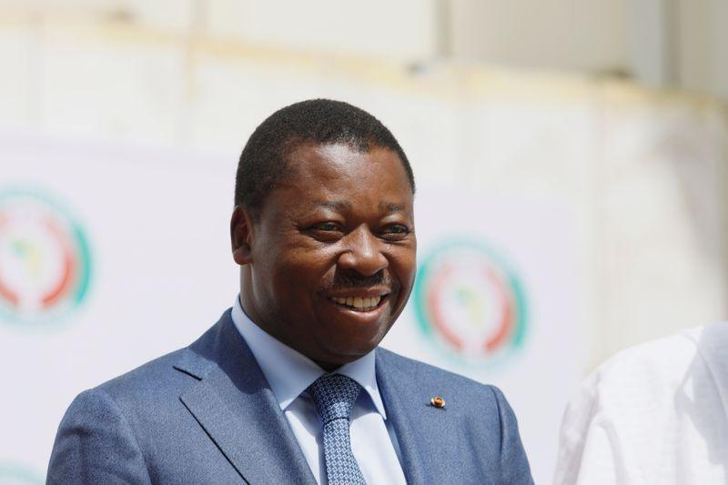 Togo president declares landslide election win, opponent slams 'masquerade'