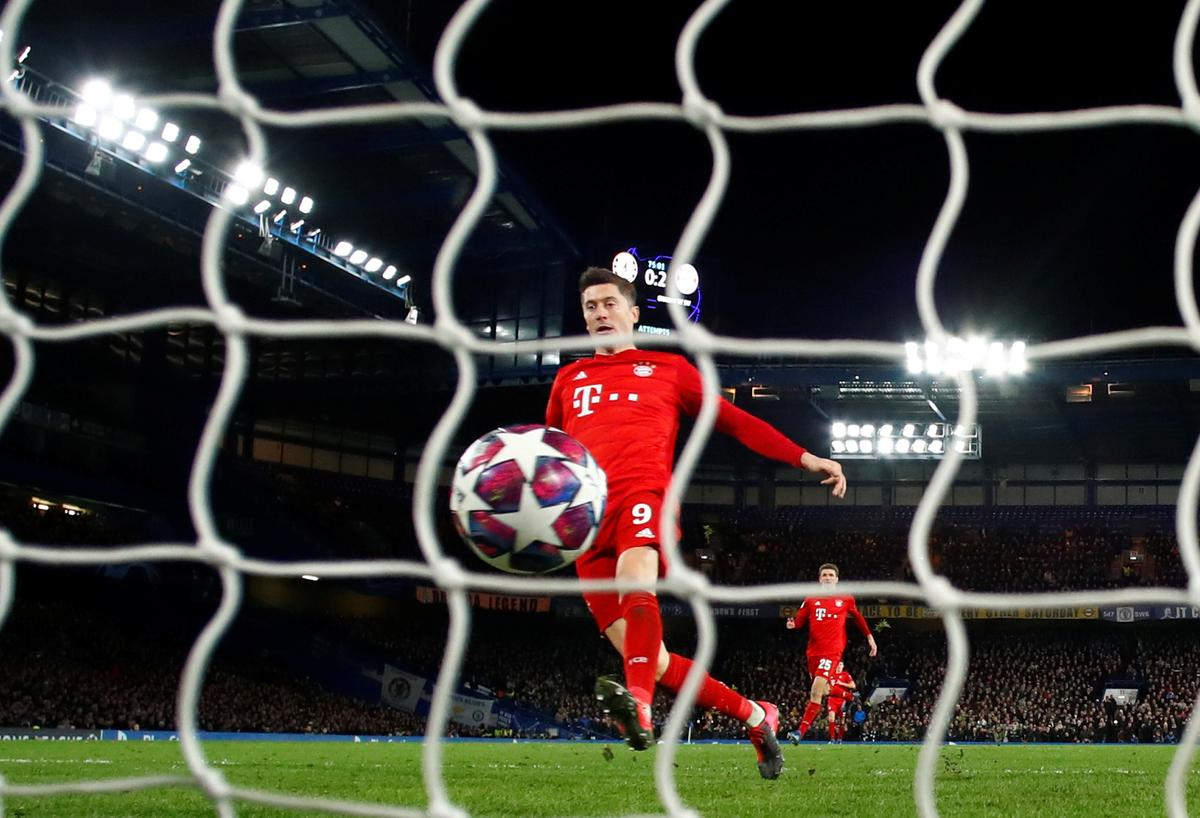 Soccer-Flying Bayern thump Chelsea 3-0 with two from Gnabry