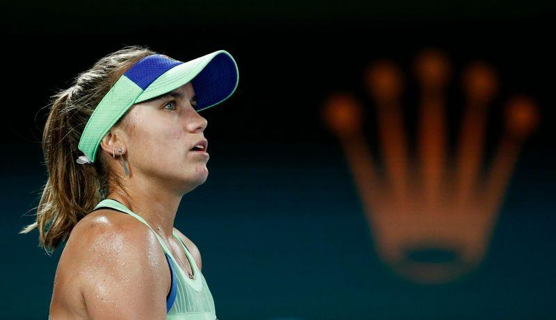 'Frustrated' Kenin keen to rediscover Melbourne Park rhythm