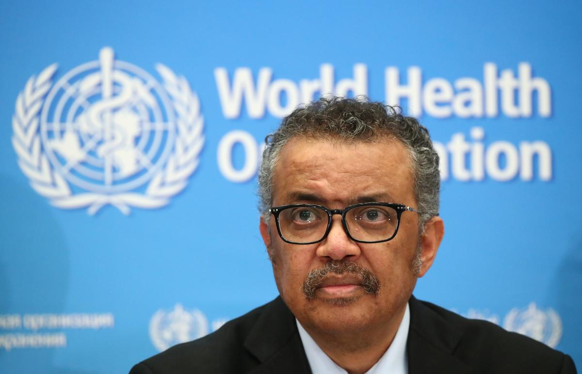 Coronavirus spread 'deeply concerning' but not a pandemic: WHO's Tedros