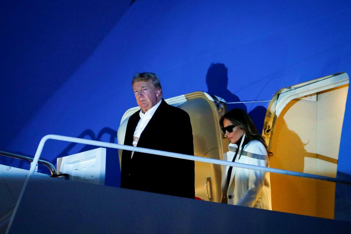 Trump returns to U.S. as country warily eyes coronavirus' global spread
