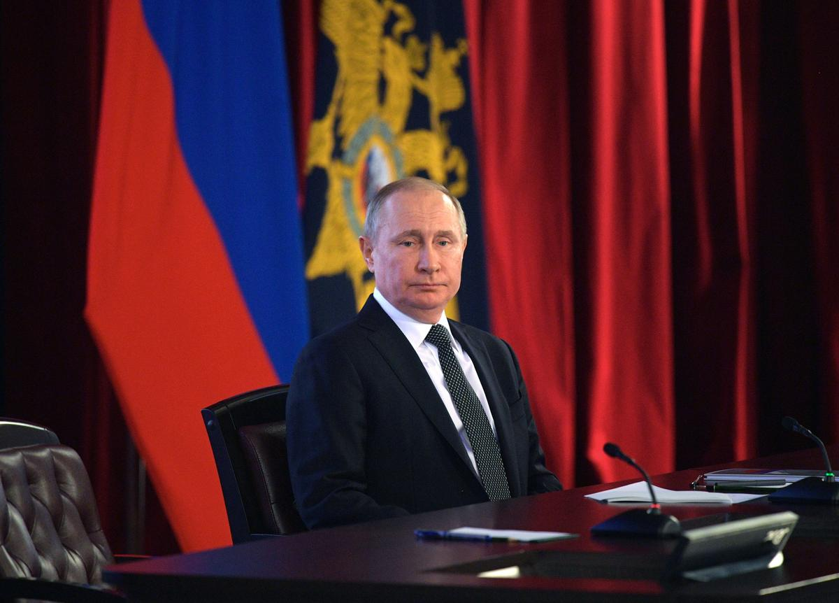 Russia's Putin agrees to hold nationwide vote on constitutional changes on April 22: Ifax