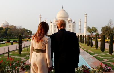 Trump visits India