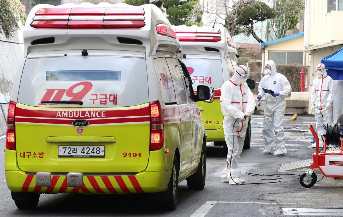South Korea reports 334 additional coronavirus cases, raising total to 1,595: KCDC