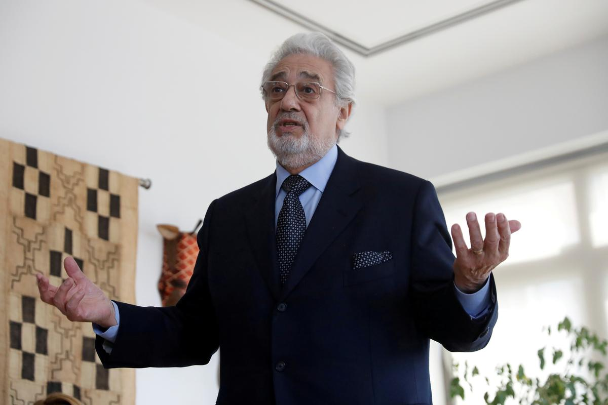 Placido Domingo cancels Madrid 'La Traviata' show following sexual misconduct claims - EFE