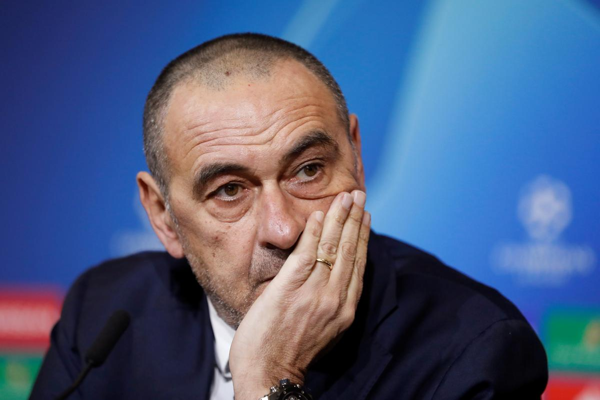 Sarri says he is struggling to impose his style on Juventus