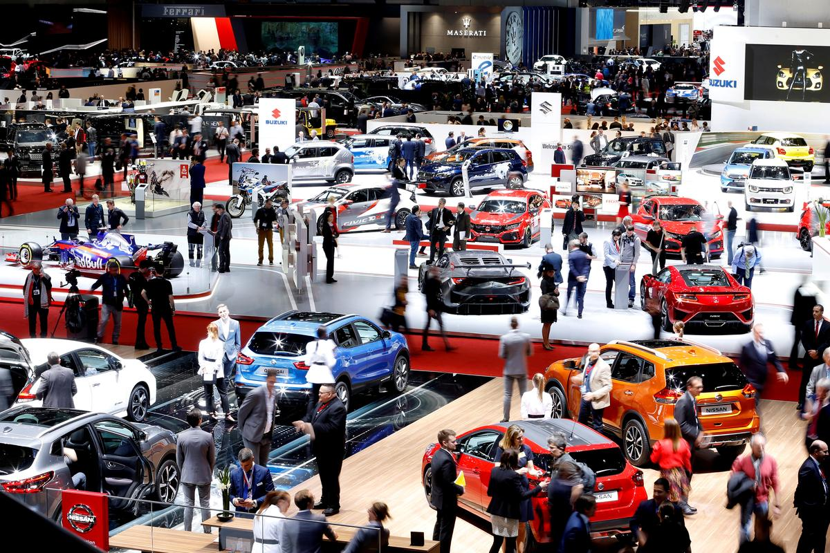 Geneva car show axed as Swiss ban large events to fight virus