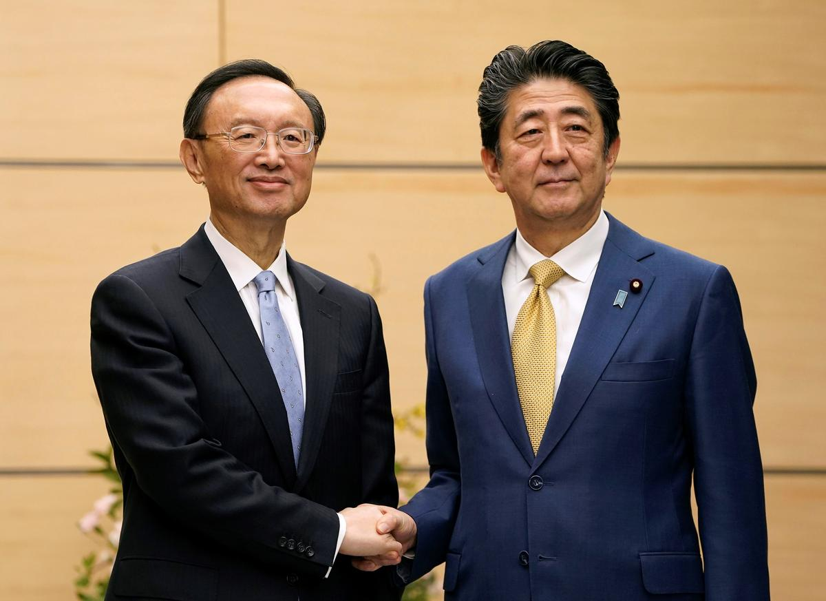 China and Japan's coronavirus cooperation helps offset sea dispute