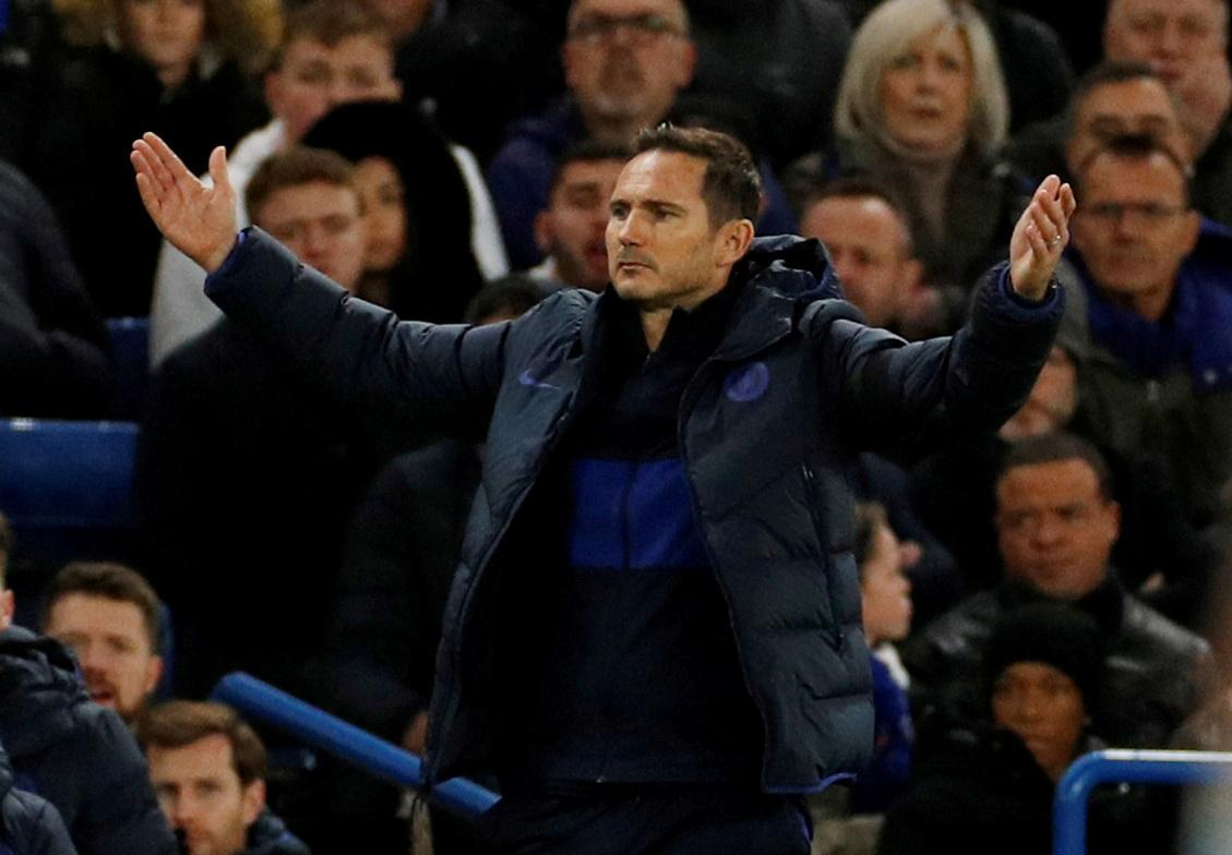 Lampard seeks Chelsea response after 'reality check' defeat by Bayern