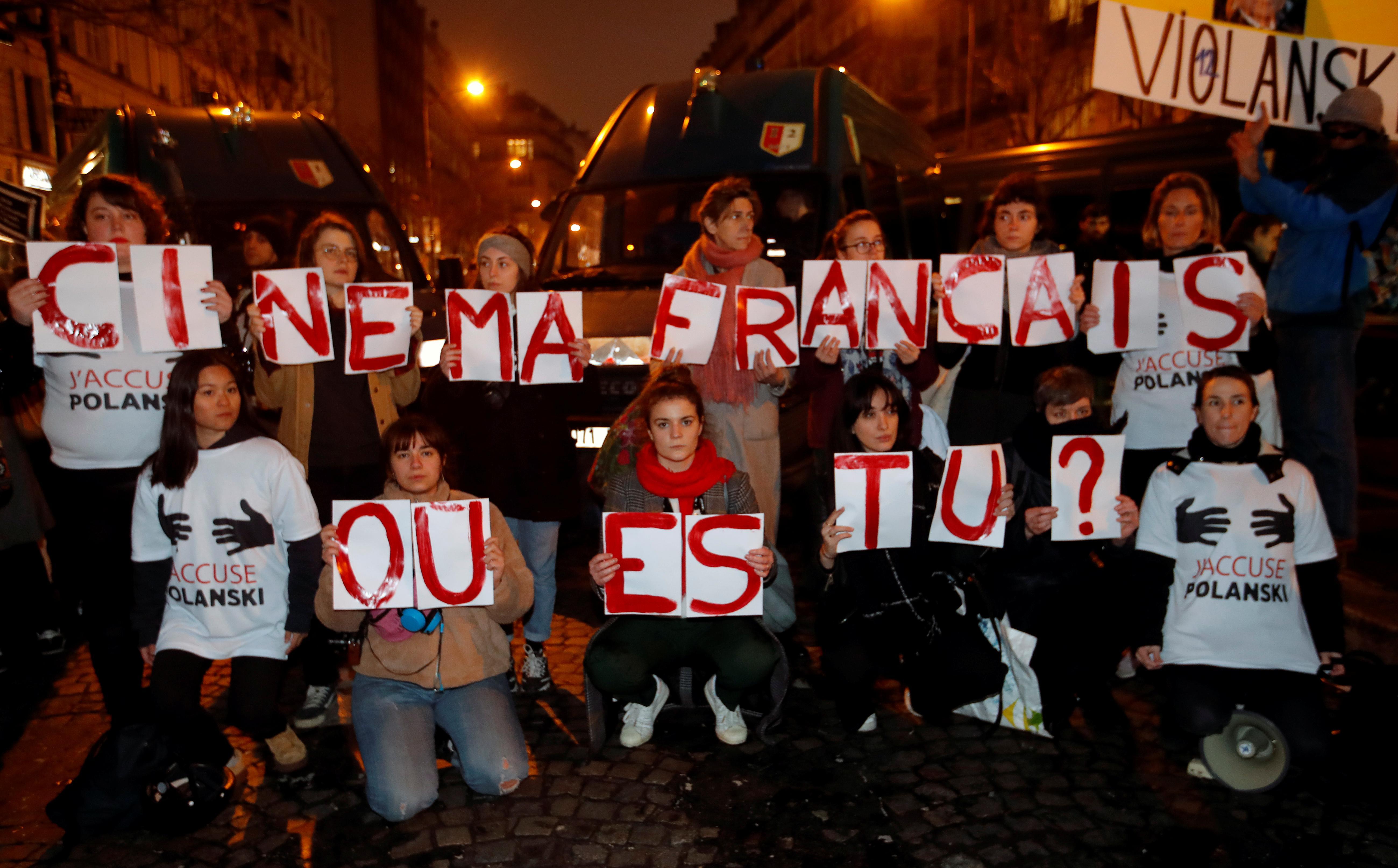 Les accusations de viol de Polanski éclipsent la cérémonie de remise du prix du cinéma français