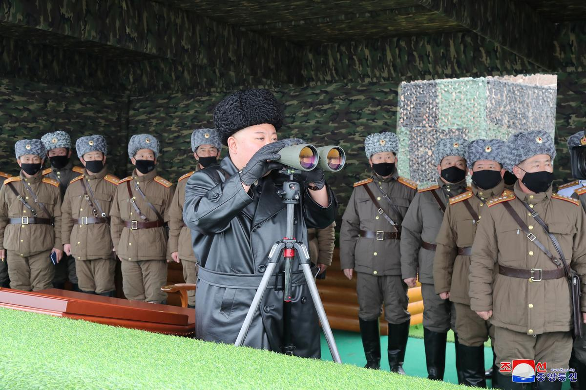 North Korea's Kim guides military drills, warns 'serious consequences' if virus breaks out: KCNA