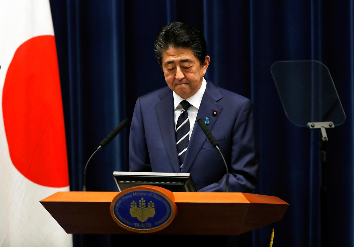 Japan's PM Abe calls for cooperation in virus battle as Olympics to go ahead