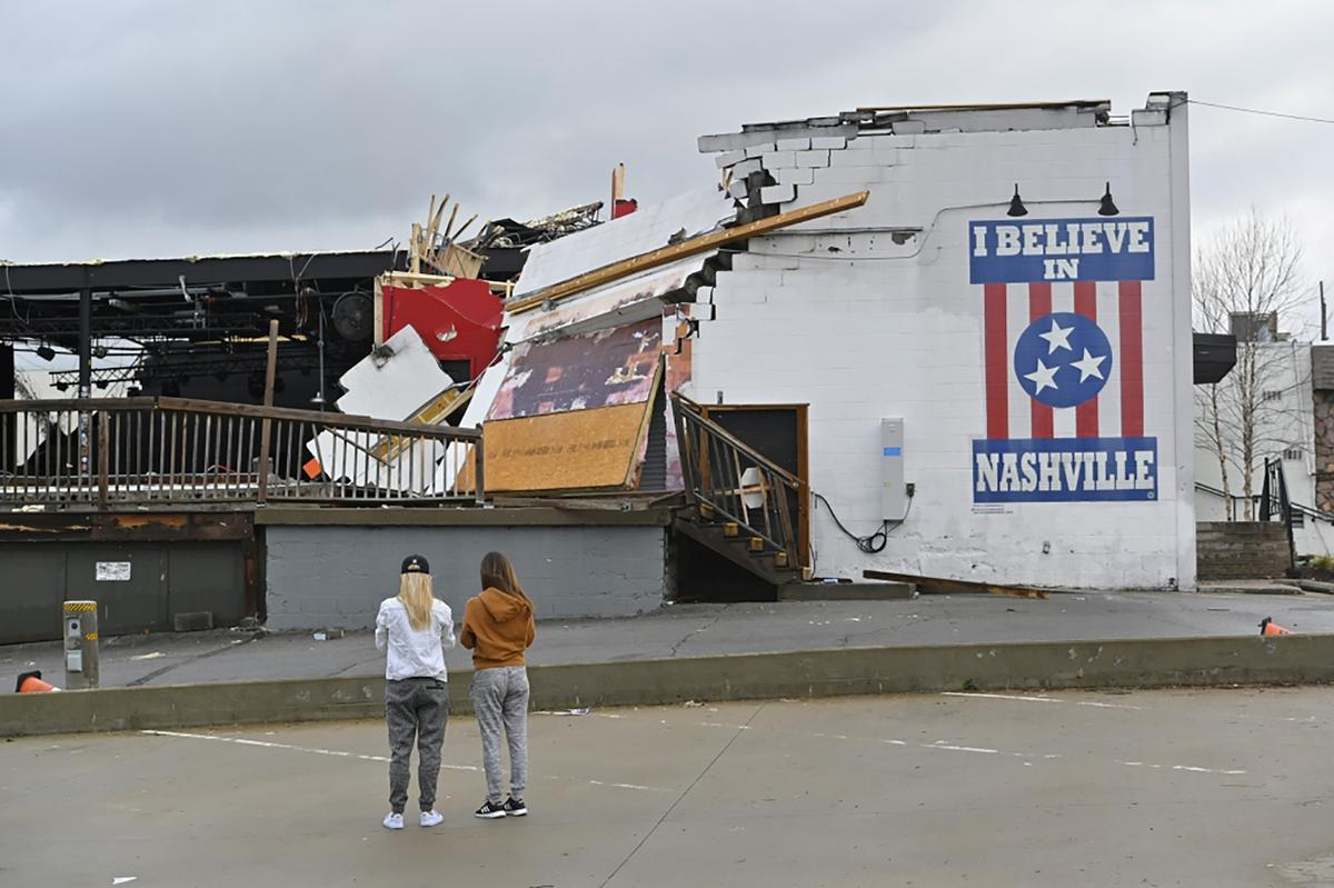 Tornadoes rip Tennessee, leaving at least 19 dead, many missing