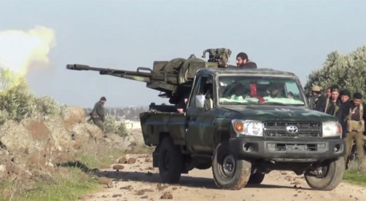 Russia says rebel positions in Syria's Idlib have merged with Turkish army posts