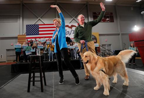 Elizabeth Warren's dog Bailey ends bid to become first pet