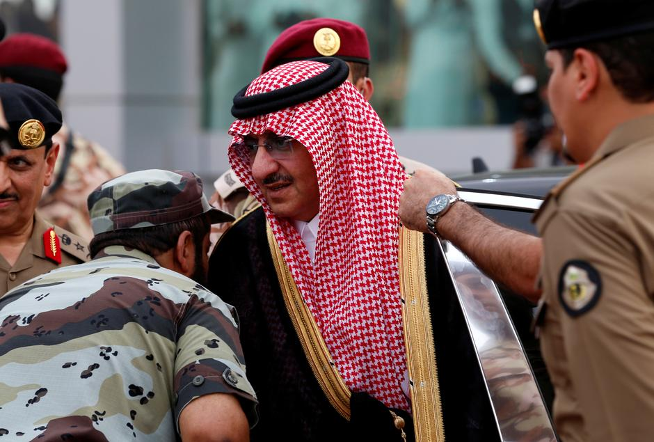Image result for Saudi Arabia detains two senior royals, including king's brother