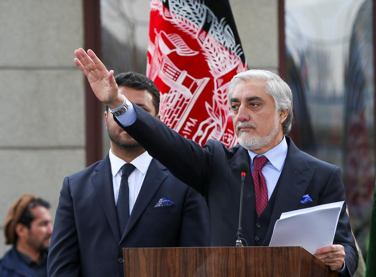 Factbox: Who is Afghanistan's self-appointed president, Abdullah Abdullah?
