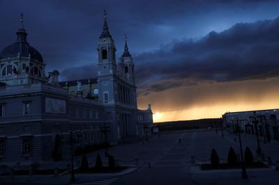 Spanish streets deserted amid coronavirus lockdown