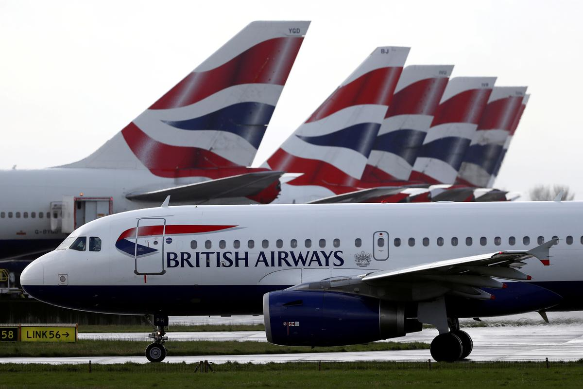 Britain to stricken airlines: try raising your own money first