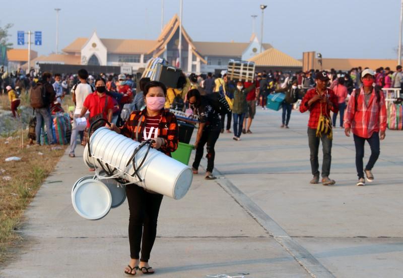 Myanmar reports first cases of coronavirus