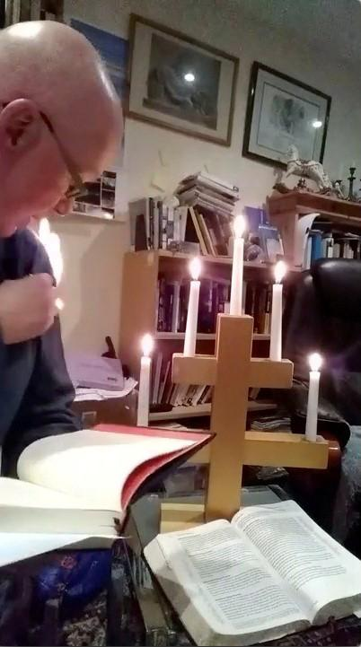 British vicar catches fire waiting for God's answer