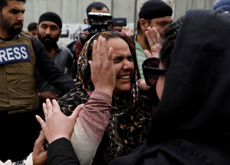 Gunmen in Afghanistan kill 25 at Sikh complex, Islamic State claims responsibility