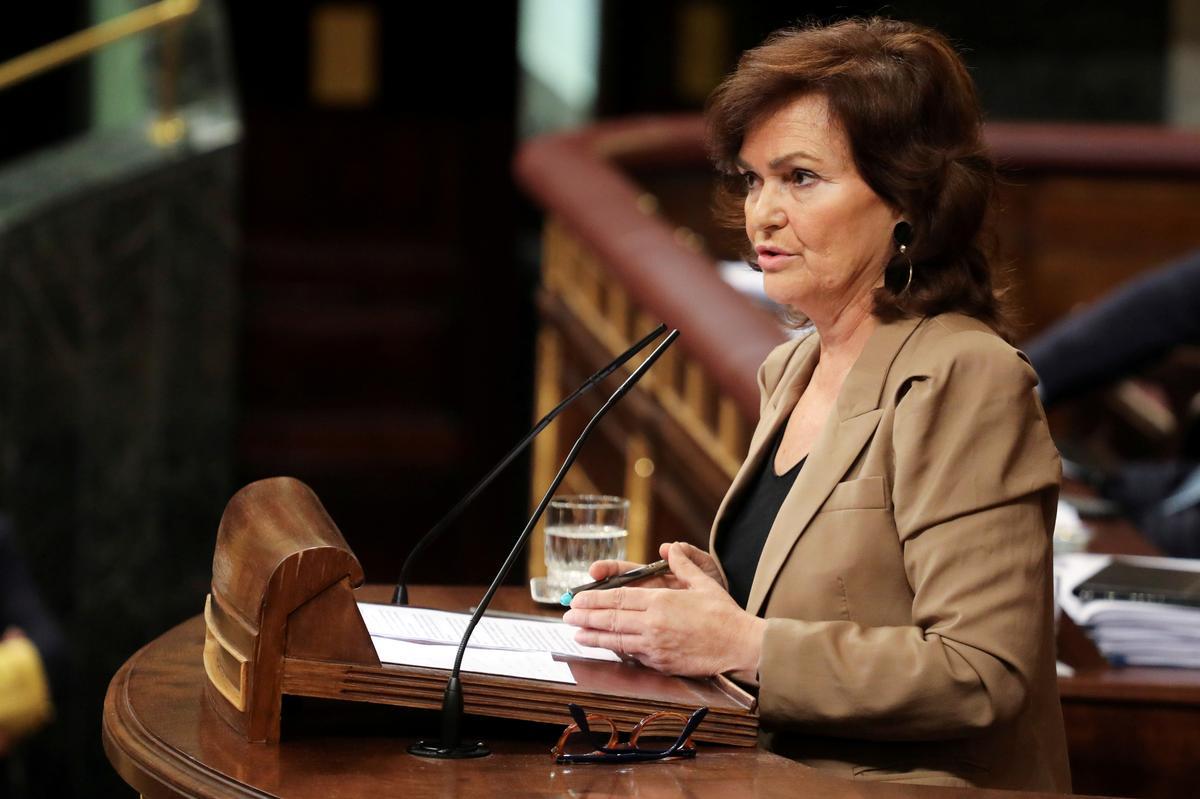 Spain's Deputy PM Carmen Calvo tests positive for coronavirus