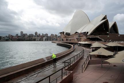 UPDATE 4-Go now: Australia tells cruise ships to leave as coronavirus cases rise