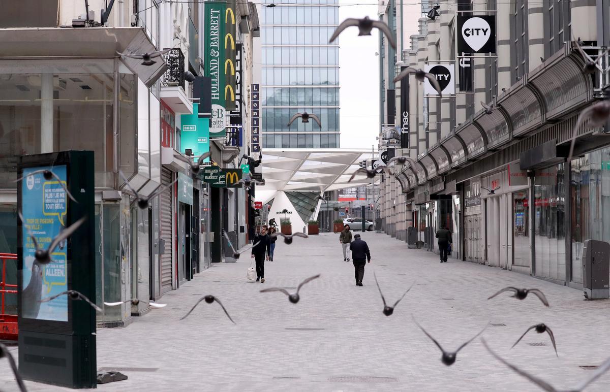 Belgium says coronavirus peak still ahead