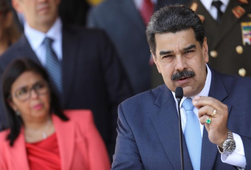 U.S. indicts Venezuela's Maduro, a political foe, for 'narco-terrorism'