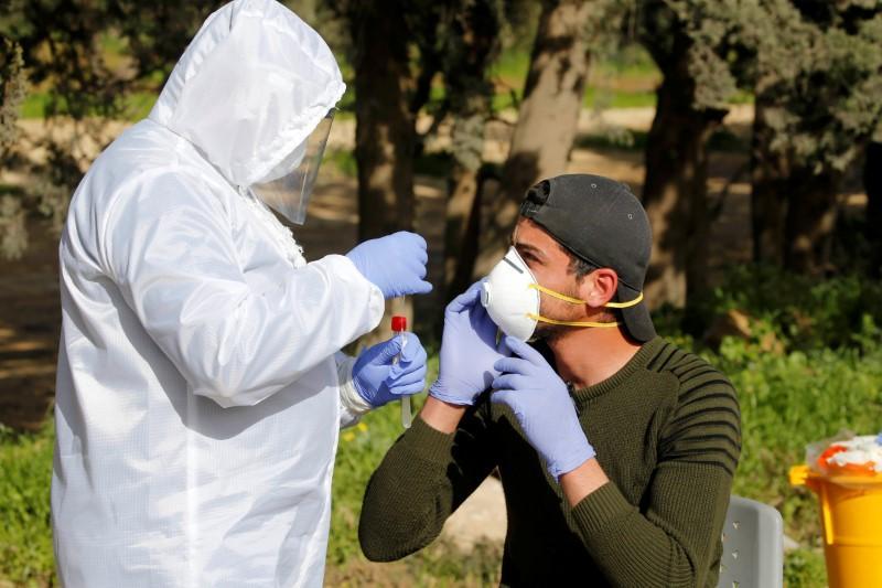 Gaza medics switching focus from border protests to coronavirus
