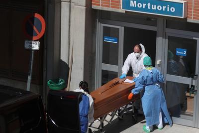 Spain's coronavirus death toll surpasses China