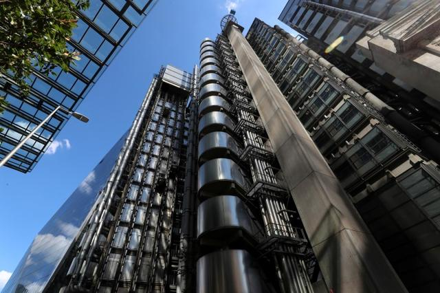 FILE PHOTO: Lloyds of London's headquarters is seen in the City of London, Britain, July 31, 2018. REUTERS/Simon Dawson/File Photo