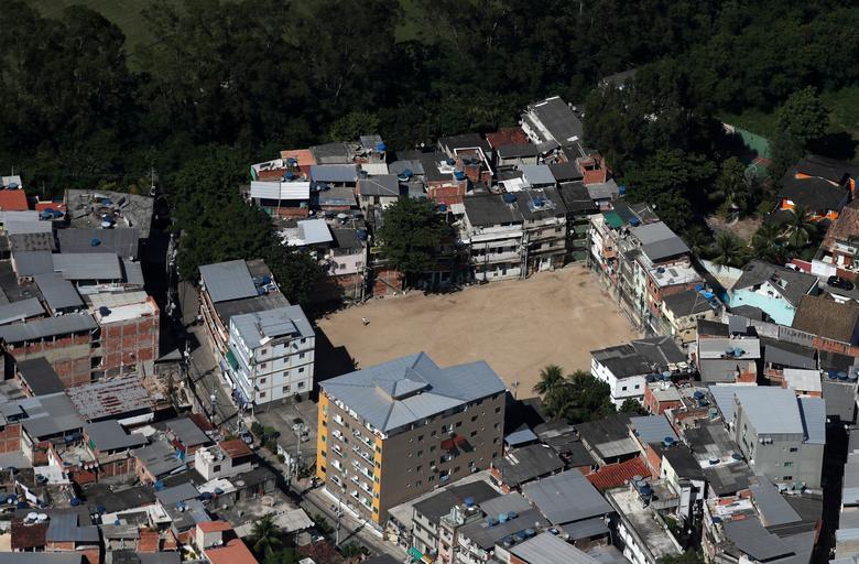 Favela do Rio das Pedras, Rio de Janeiro, 26 de março. REUTERS / Ricardo Moraes