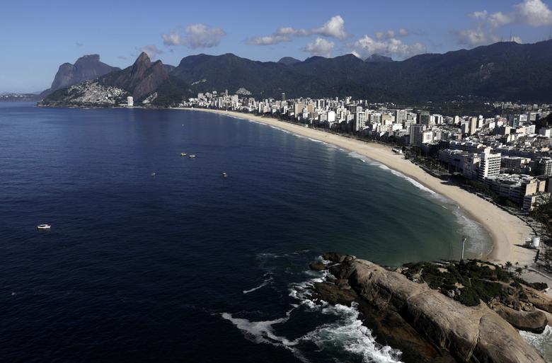 Praia de Ipanema, Rio de Janeiro, 26 de março. REUTERS / Ricardo Moraes