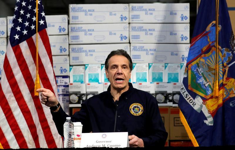 New York's Cuomo postpones primary election as coronavirus cases keep growing