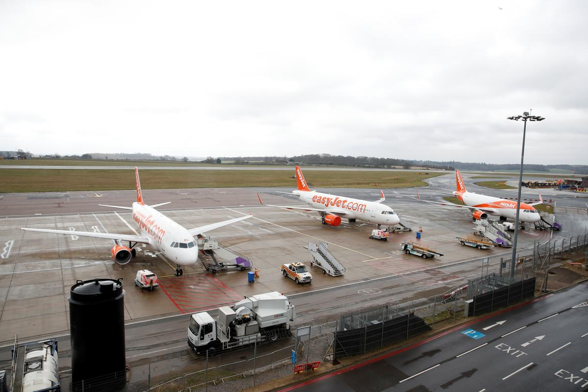 EasyJet grounds fleet as pandemic pushes airlines to the brink