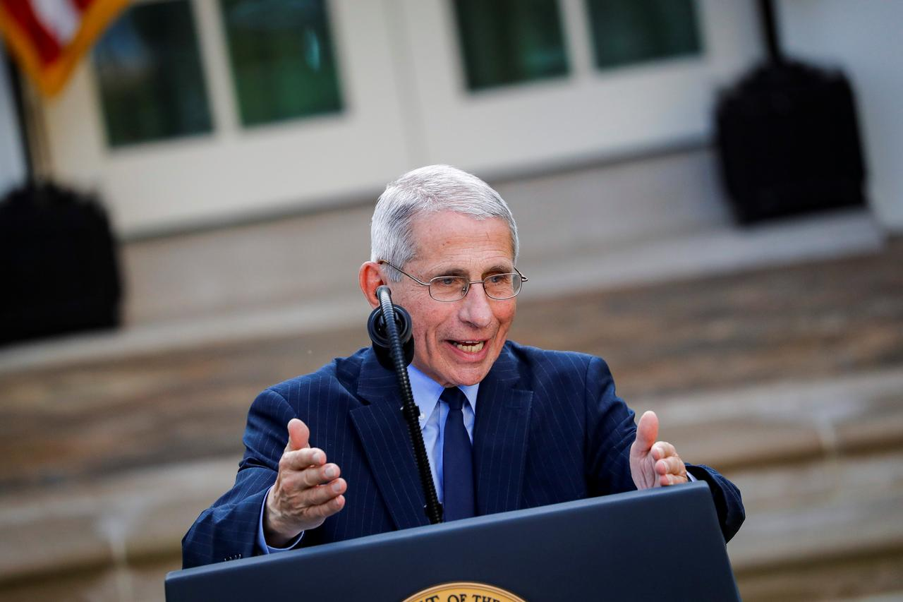 Dr. Fauci Says All States Need to Issue Stay-at-Home Orders