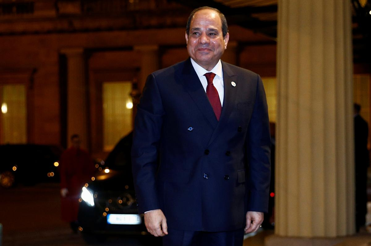 Egypt's Sisi calls for boost of strategic food reserves during coronavirus outbreak