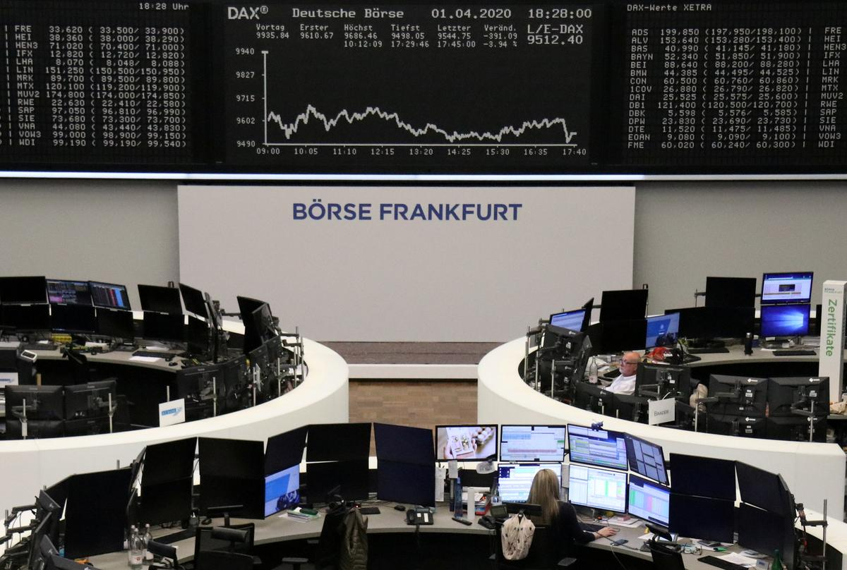 European stocks scrape out gains as surging oil prices offset virus woes