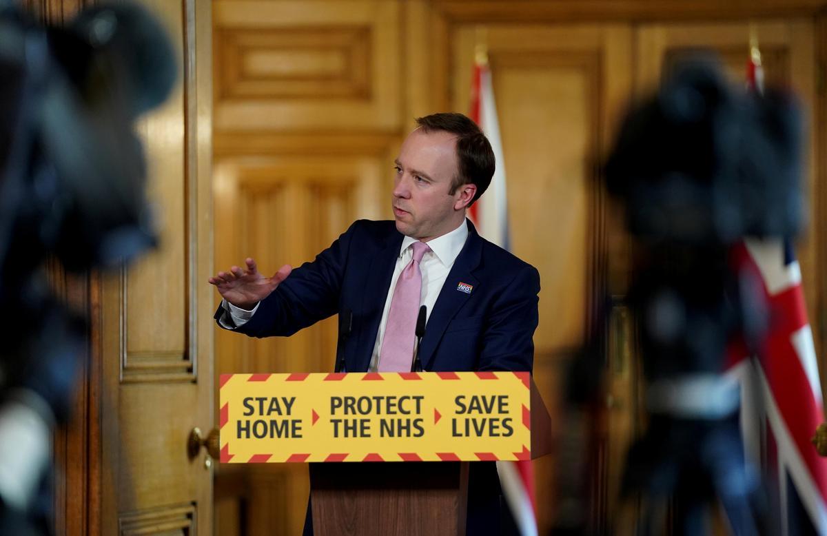 UK's Hancock says tighter coronavirus rules 'not imminent'