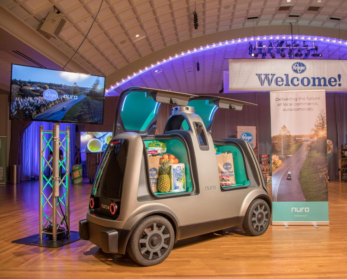 California allows startup Nuro to test driverless delivery vehicles