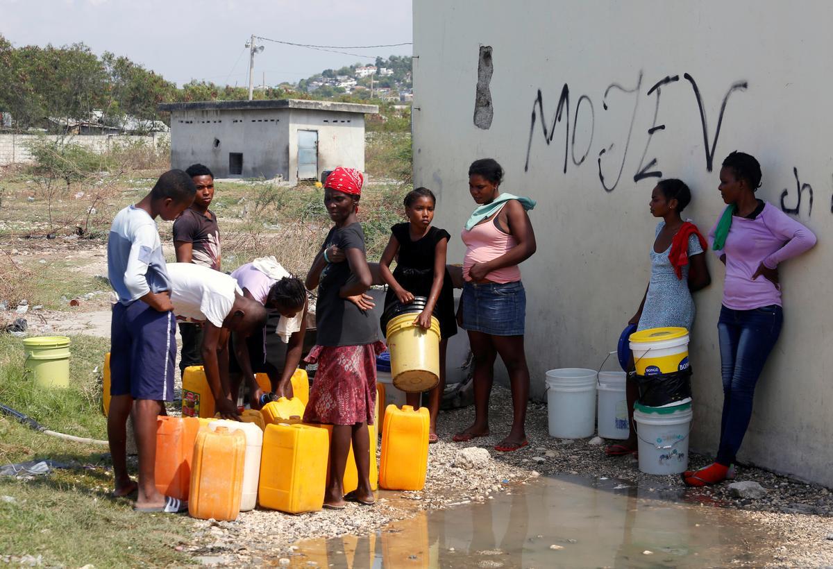 United States deports Haitians despite coronavirus fears