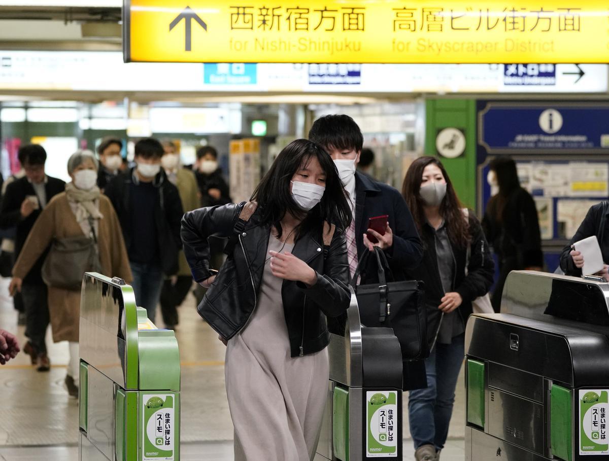 Tokyo sees biggest daily jump in infections as coronavirus emergency begins