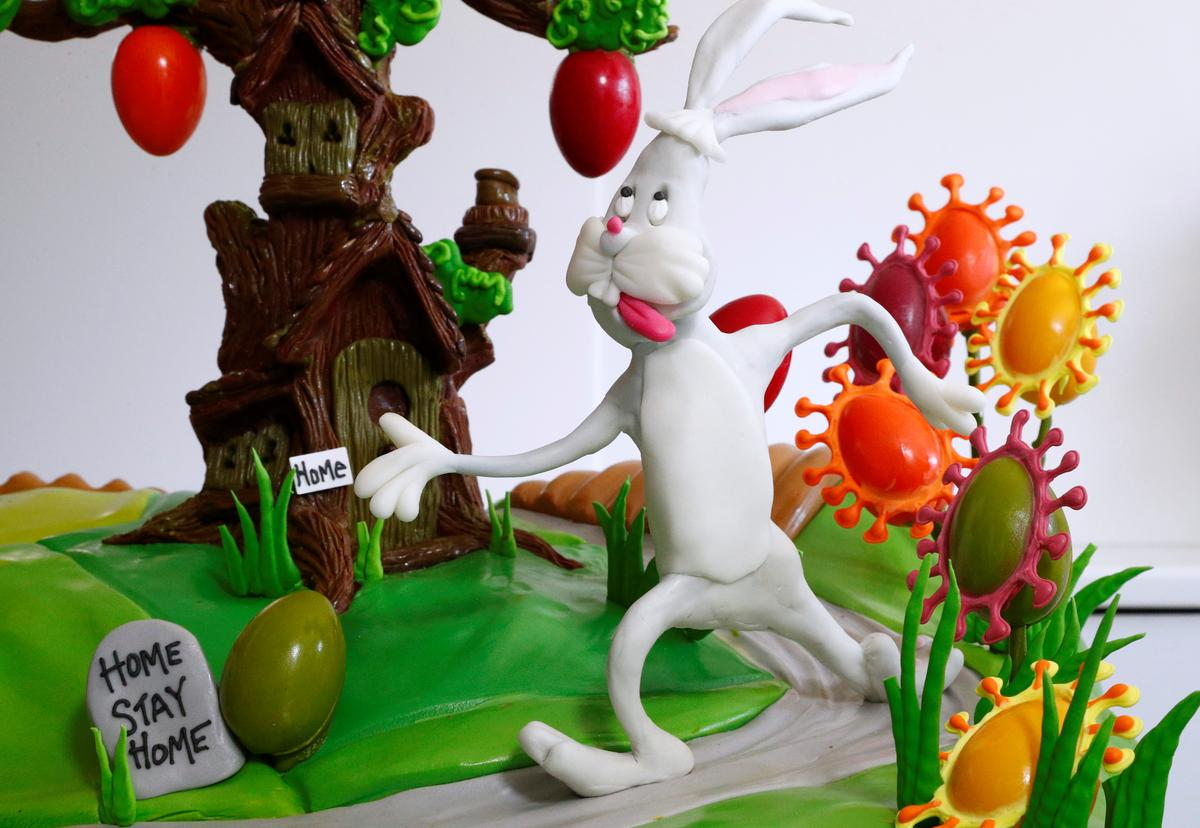 Stay home, eat chocolate: Belgian chefs celebrate Easter despite coronavirus
