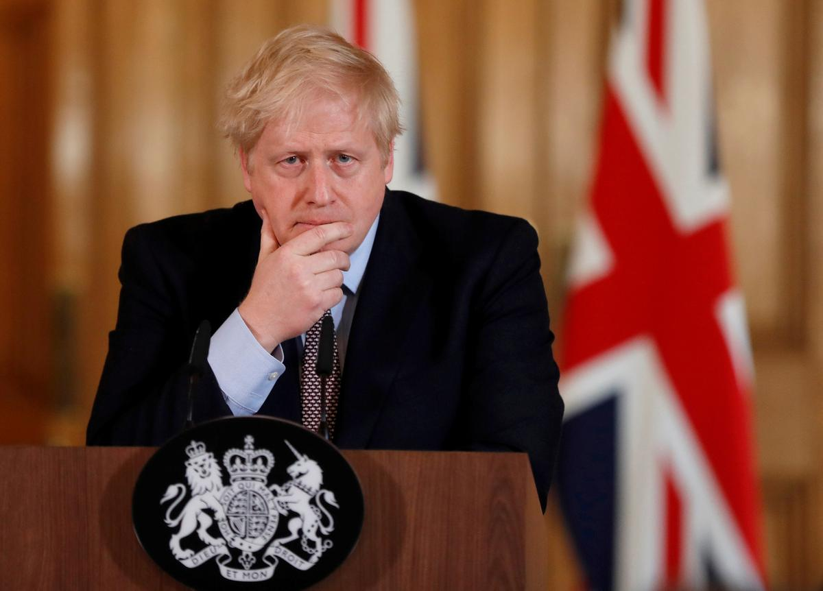 UK PM Johnson leaves intensive care, remains under observation