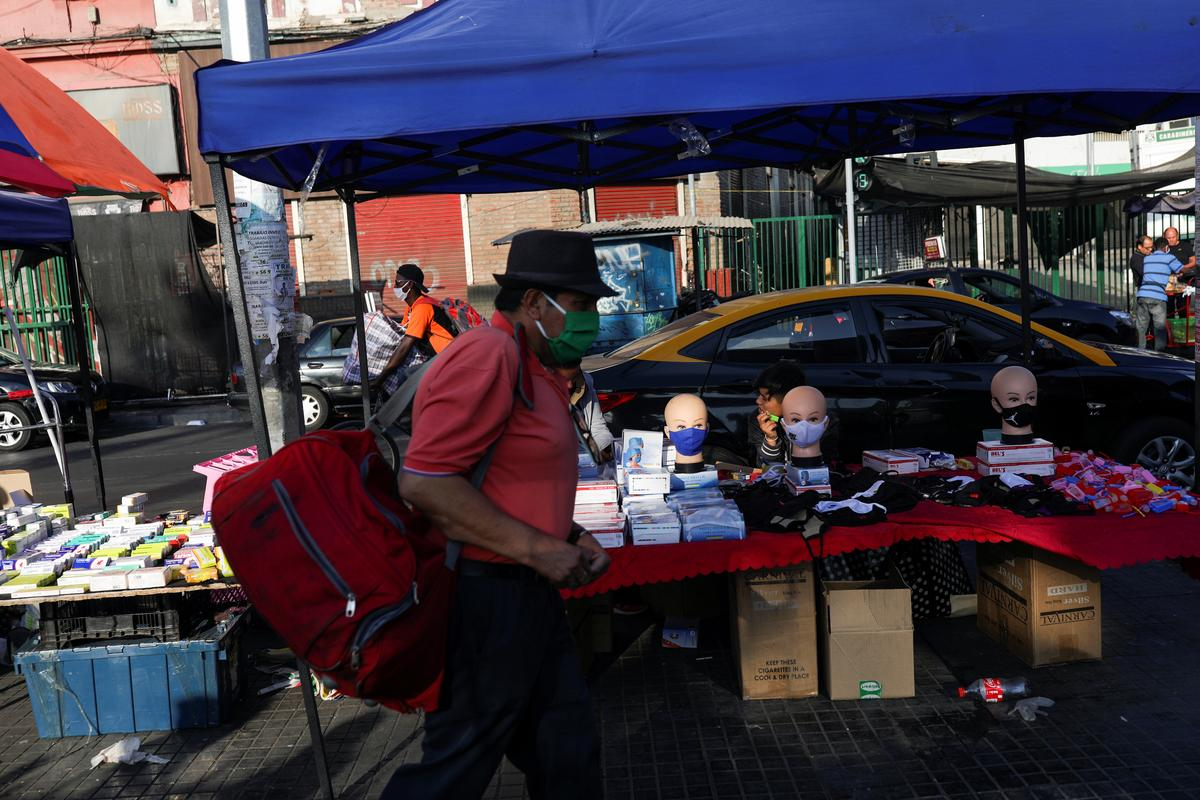 Hunger stalks Latin America's street vendors as empty sidewalks mean no customers