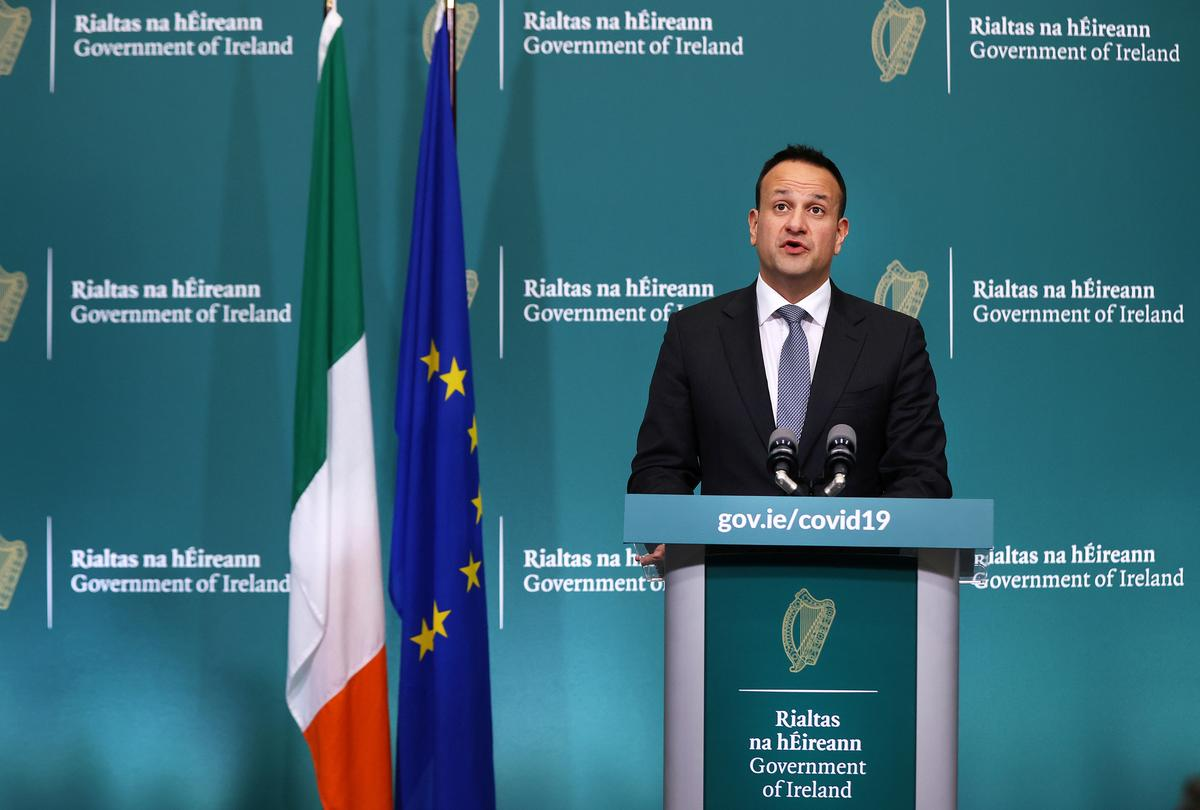 Irish PM says 'fervent hope' is to ease virus restrictions after May 5